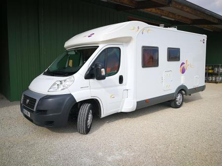camping car MOOVEO P P 673 modele 2008