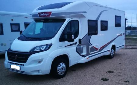 camping car CHALLENGER GENESIS 288 EB modele 2017